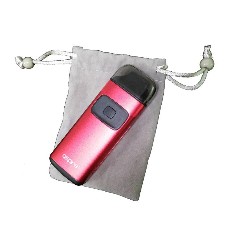 Electronic Cigarette Duskproof Velvet pouch Light-Grey E-cigs Pocket Aspire Vape Kit Bag