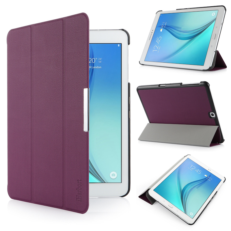 Stand Case for Samsung Galaxy Tab S2 9.7, SM-T810 T813, iHarbort PU Leather Case smart Cover with Multi-Angles holder Stand аксессуар чехол samsung galaxy tab a 7 sm t285 sm t280 it baggage мультистенд black itssgta74 1