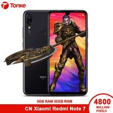 2019 Xiaomi Cep Telefonu Redmi Not 7 3 GB RAM 32 GB ROM Snapdragon 660 Octa Çekirdek 6.3