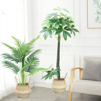 Northern Europe artificial plant diffuser large potted greenery plant artificial flower bonsai artificial trees for home decor