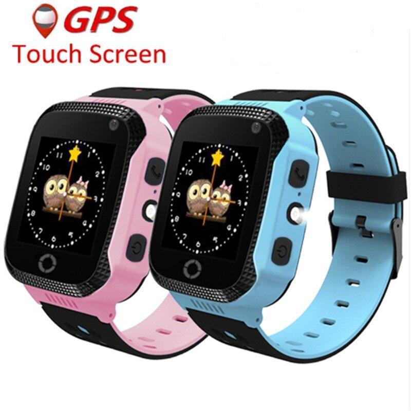 GPS Enfants Montre Smart Watch Caméra À Distance Pour Enfants Y21 Q528 Montre Intelligente Bébé Smartwatch SOS LBS Localisation de L'appel vs Q750 q100
