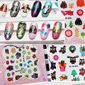 2016 Nuevo Llegado Owl Sticker Fancy Nail Sticker Agua Clavo Lleno Wraps Agua Calcomanías De Uñas 3D Decoraciones Del Arte Del Clavo Pegatinas