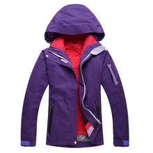 Free shipping High quality women ski suit women's skiing clothing winter outdoor sports ski jacket waterproof windproof warm