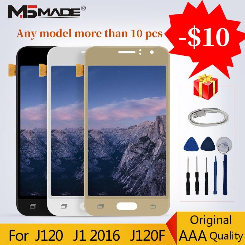 LCD d'origine pour Samsung Galaxy J1 2016 J120 J120F J120M J120H LCD écran tactile numériseur pièces de rechange