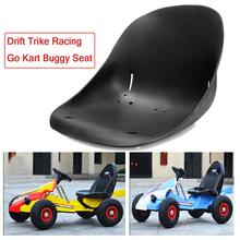 TDPRO Drift Trike Racing Go Kart Buggy Car Seat Saddle Black Plastic Off-Road Racing Seat Cover Motorcycle Bucket Modified Seats four double car racing suit and waterproof f1 racing kart drift racing suit bag mail