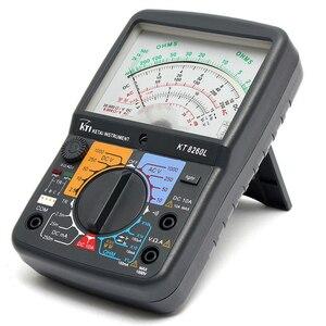 Image 4 - KT8260LDigital Analog Multimeter ACV/DCV/DCA/Electric Resistance Tester  + 2pcs Test Pen For Measurment Tools