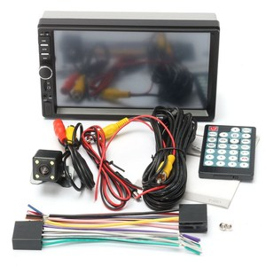 Image 5 - 7 Inch Car MP4 MP5 Players Bluetooth Central MultimediaTouch Screen With Night Vision Rear View Camera Auto Radio Video Player