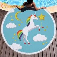 2018 Summer Beach Cover Up Cute Cartoon Design Horse Animal Printed Bikini Cover Up Praia Pareo