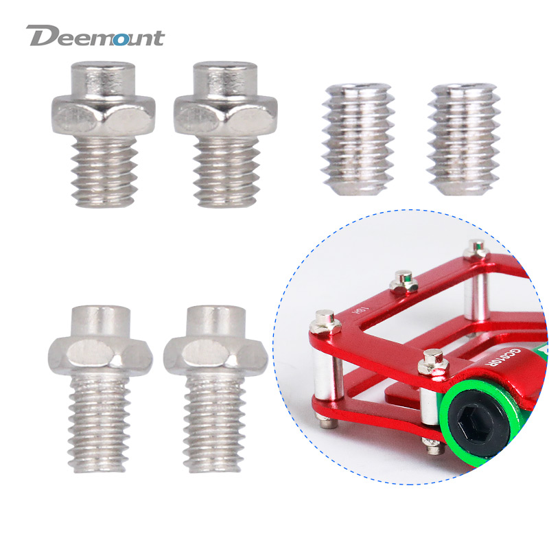 Deemount Bicycle Pedal Harness Bolts M5*20 Screws with Washer N Nuts Bike