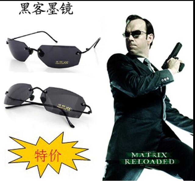 edae6f4f60acc Matriz óculos de sol   óculos MX010 Agent Smith A lente PC de homens   100%  anti UV cor UV 400 em Óculos de sol de Acessórios de vestuário no  AliExpress.com ...