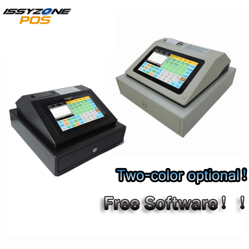 IPCR004 Free Software Touch Screen Automatic Electronic Money Cash Register All in one POS for Restaurant