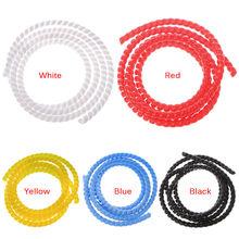 Enrouleur de fil en spirale, Tube enrouleur ignifuge, bandes colorées de diamètre en spirale, gaine de câble, gaine d'enroulement