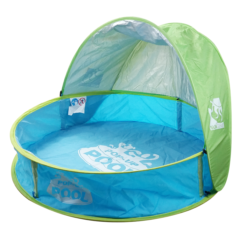 Swimming Pool & Accessories No Inflation Detachable Canopy Waterproof Material Can Play With Water Playing With Sand Play Ball Childrens Swimming Pool
