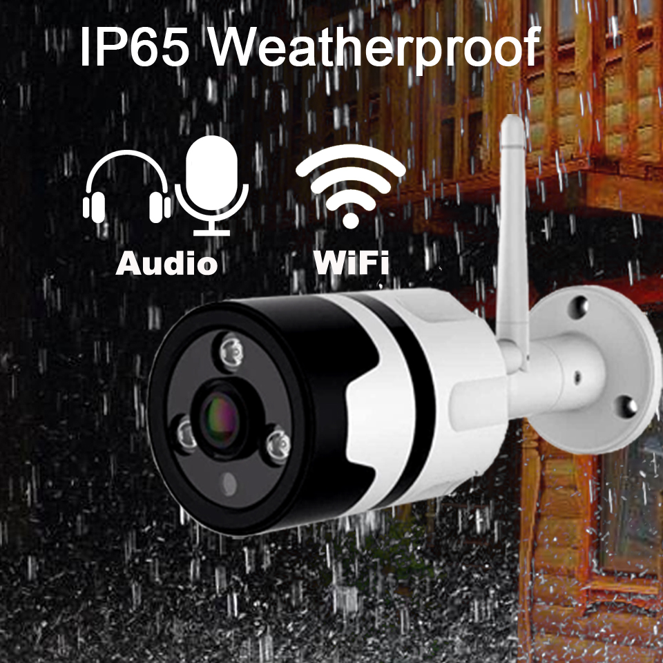 DAYTECH 960P Surveillance Camera CCTV Security Network Monitor Audio Wirless IP Camera WiFi P2P Waterproof Indoor Outdoor IR-Cut mesbang 960p 8ch wifi wirless outdoor security system kit delivery with 7 inch monitor very fast by dhl fedex