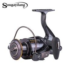 Sougayilang Spinning Fishing Reel 13+1BB Right Left Hand Interchangeable Fishing Reel 2000-5000 Series Fishing Coil Wheel
