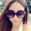 NUEVO Estilo de gafas de Sol de La Vendimia Mujeres UV Gafas de Moda Colorido Anti-Deslumbramiento Gafas de Sol 9554