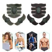 Dropship 6 pcs Jaune EMS Abdominale Formateur Musculaire Smart ABS  Stimulateur Sculpture Massager Pad Fitness Gym Corps Minceur . 16fbf2622ae