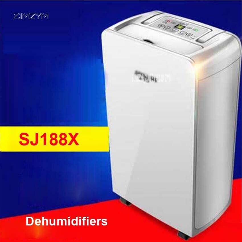 SJ188X maison muet déshumidificateur absorbeur Air sec vêtements déshumidificateur haute qualité sécheuse Machine 16L/D déshumidification 220 V/210 W