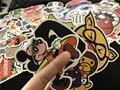 Мультфильм Stickers100 шт горячая смешанная декор игрушка укладки ноутбук наклейки для мотоциклов скейтборд каракули игрушки стикер