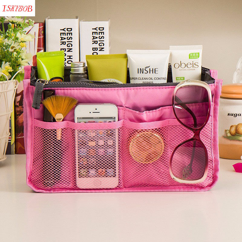 Make up organizer bag Women Men Casual travel bag multi functional Cosmetic Bags storage Makeup Handbag ladsoul 2018 women multifunction makeup organizer bag cosmetic bags large travel storage make up wash lm2136 g