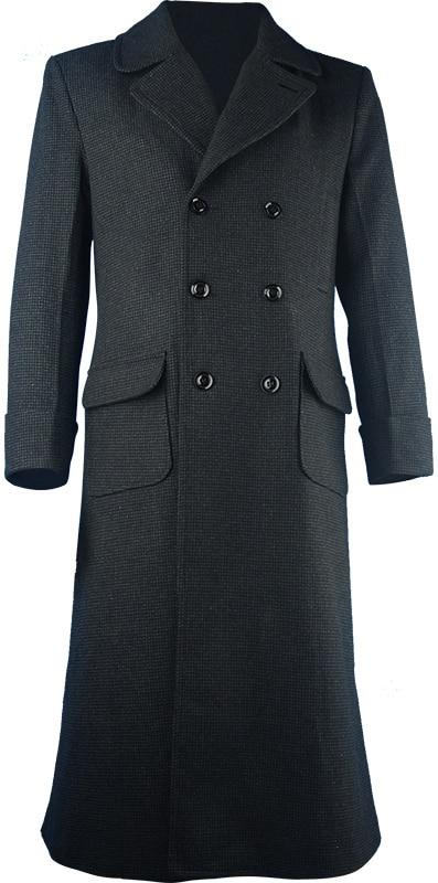 """Šerlokas Holmesas """"Windbreaker"""" ilgas treniruotės žiedas """"Coat overcoat"""" žiemos vilnonio vilna pagamintas Helovinas """"Cosplay"""" kostiumas"""