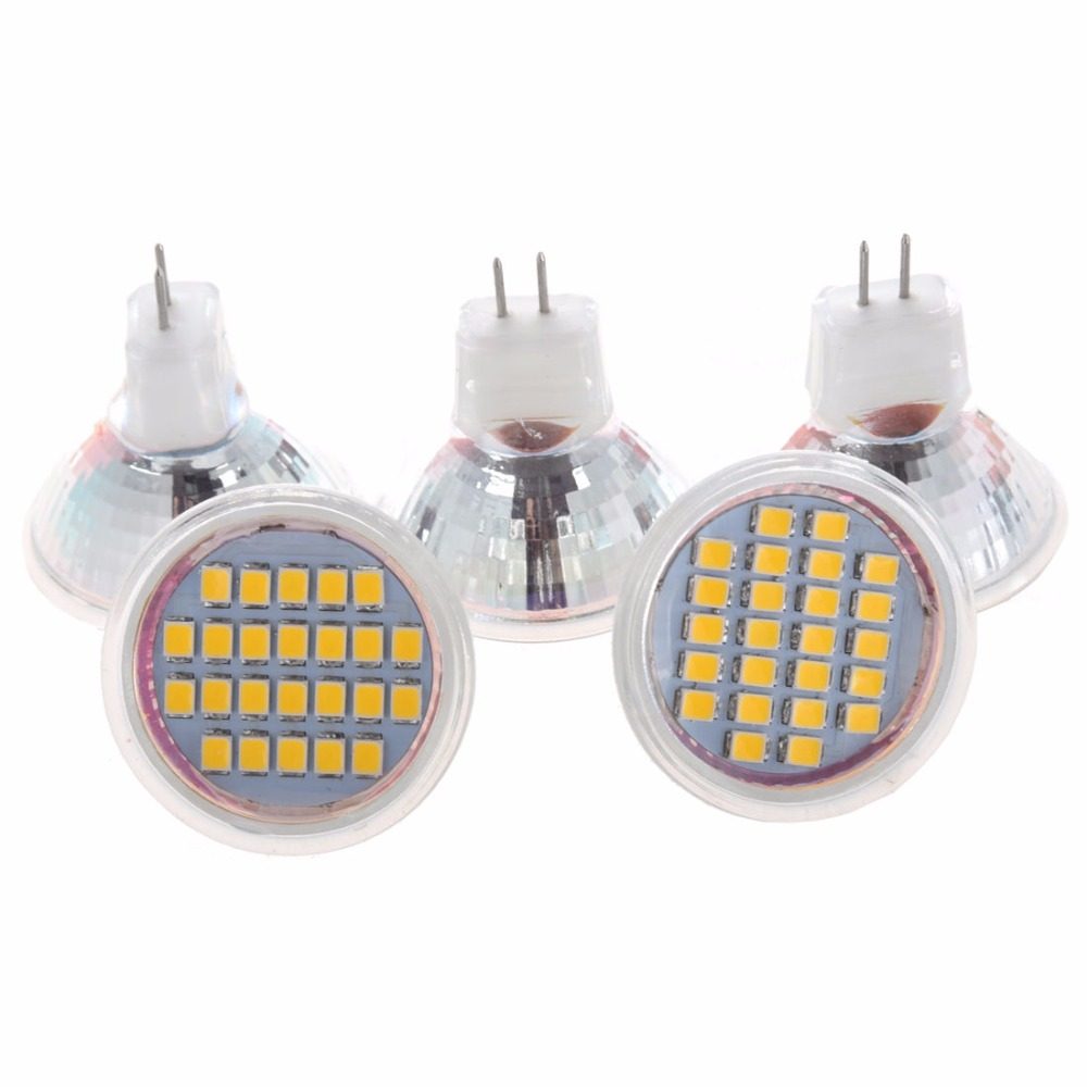 5pcs 1.5W DC12V MR11 GU4 LED Bulb 24 LED 3528 SMD 1210 2835 SMD White/Warm White Led Lamp Mini LED Spotlight chandelier lustre комплектующие для осветительных приборов star led photoelectric 24 3528 5050rgb 12vled
