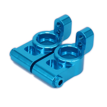 Front Rear Hub Carrier Knuckle Upright Set Left&Right For Rc Hobby Car 1/10 HPI RS4 6061-T6 113708 CNC Alloy Aluminum Knuckle