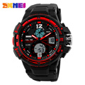 2016 Men's LED Digital Watch Men Sports Watches Reloj Fashion Casual Relogio Masculino Clock Outdoor Military Wristwatches SKMEI