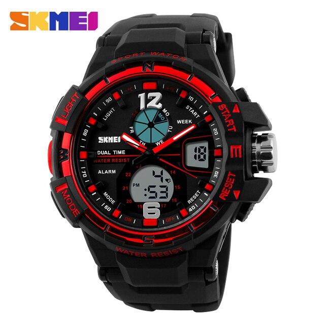 2016 Men's LED Digital Watch Men Sports Watches Reloj Fashion Casual Relogio Masculino Clock Outdoor Military Wristwatches SKMEI