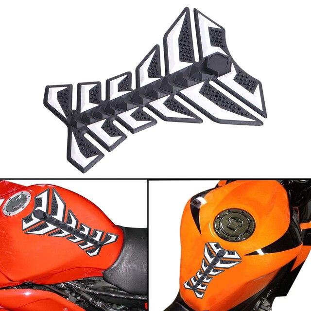 Us 1052 Coole Motorrad öl Tank Aufkleber 3d Gummi Gas Tank Beschützer Decal Abdeckung Mit 3 Mt Klebstoff Für Harley Meisten Motorräder Mbg250 W