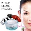 28 Días Pecas Manchas Oscuras Crema Para Blanquear La Cara Crema de Eliminación de Pigmento Limpieza Productos Mancha Moteado