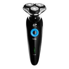 Paiter 4d электробритвы для мужчин бороды бритвенный станок бритвы аккумуляторная быстрая зарядка 1.5 часа trippe глава гибкий 882 fishkim(China (Mainland))