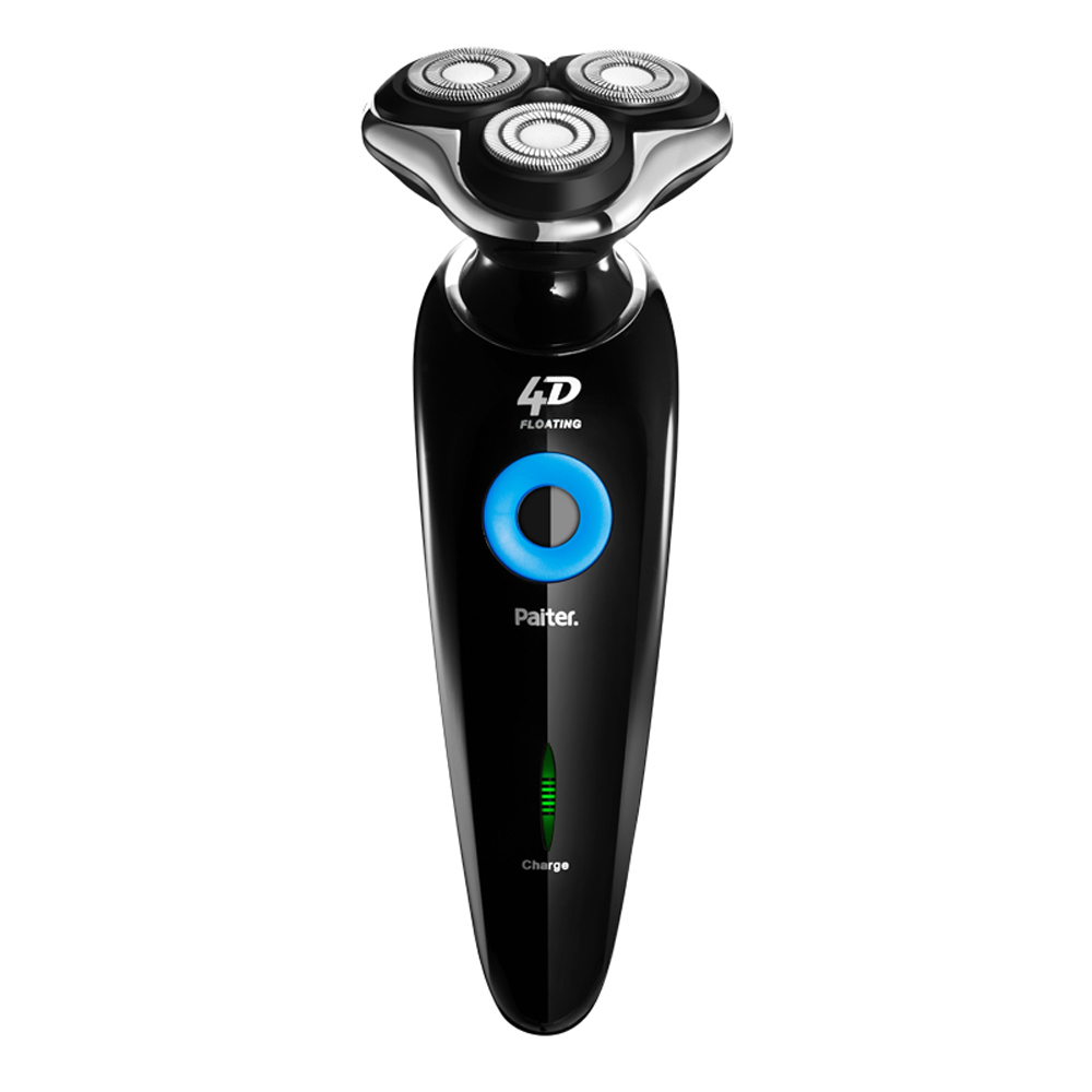 Paiter 4D Electric Shaver Men Beard Shavings