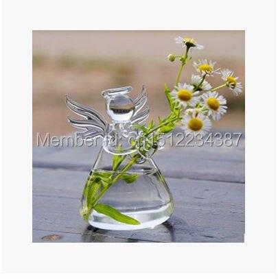 Nová módní průhledná skleněná závěsná váza módní hydroponická květina moderní domácí dekorace