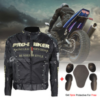 Cycling Motorcycle Jacket Waterproof Windproof Anti UV Breathable Motor Jacket Protection Racing Clothes Full Body Armor