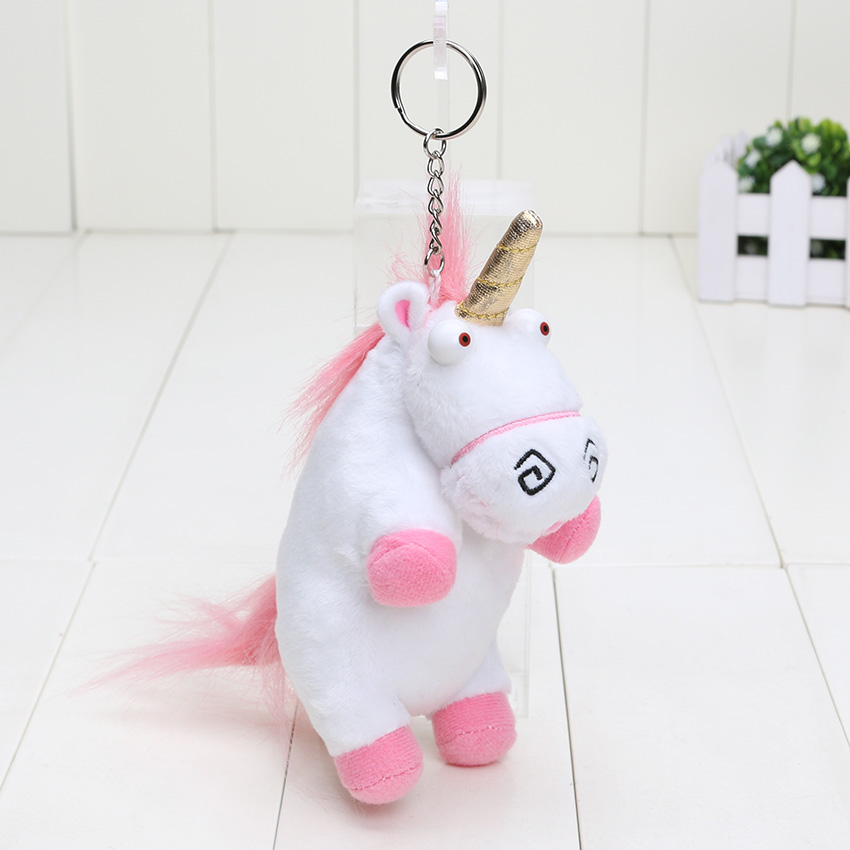 "6"" 15cm Plush Toys Unicorn Plush keyring keychain pendant Soft Stuffed toys"