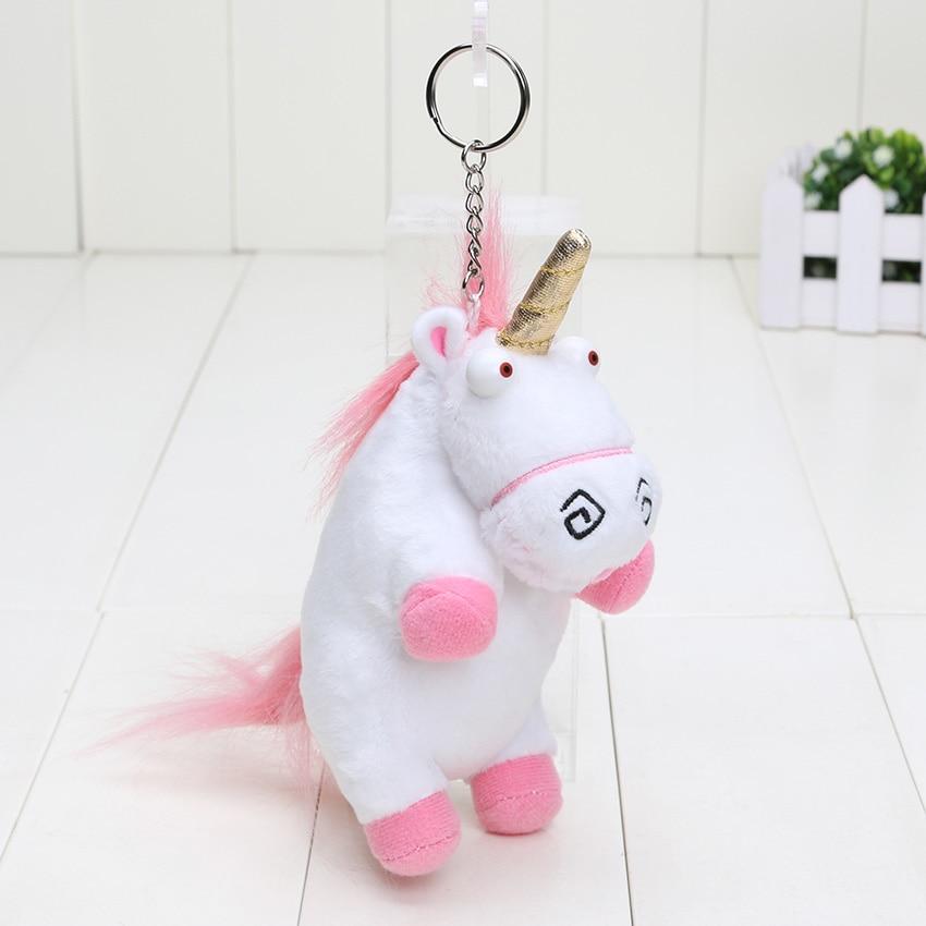 """6"""" 15cm Plush Toys Unicorn Plush keyring keychain pendant Soft Stuffed toys"""