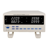 PM9840 скамейка trmc AC напряжение тока измеритель мощности высокой мощности Электрический Тип 600 в, 40А