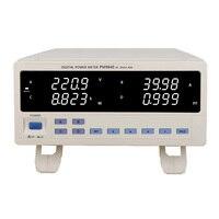 PM9840 مقعد trms ac قوة الجهد الحالي متر نوع عالية الطاقة الكهربائية 600 فولت ، 40a
