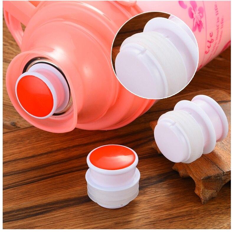 4 шт./лот Еда Класс термос плагин бутылку крышкой Пластик силиконовой заглушкой адаптер для электрического чайника Запчасти Замена чайник