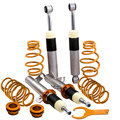 Abaissement Coilovers Suspension pour Ford Fiesta MK6 1.6 Zetec S JH JD Coilovers amortisseur jambe de force ressorts KIT hauteur réglable|Amortisseurs et entretoises|   -