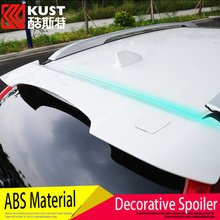 KUST Newest High Quality ABS Material Car Rear Wing For Honda For CRV 2012 2013 2014 2015 Spoiler Tail Fin For CRV 2012 To 2016