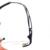 Laura Fadas Strass Decoração Óculos de Armação para as mulheres Optical Armação Dos Óculos Sem Aro de Titânio Memória Armações Miopia F