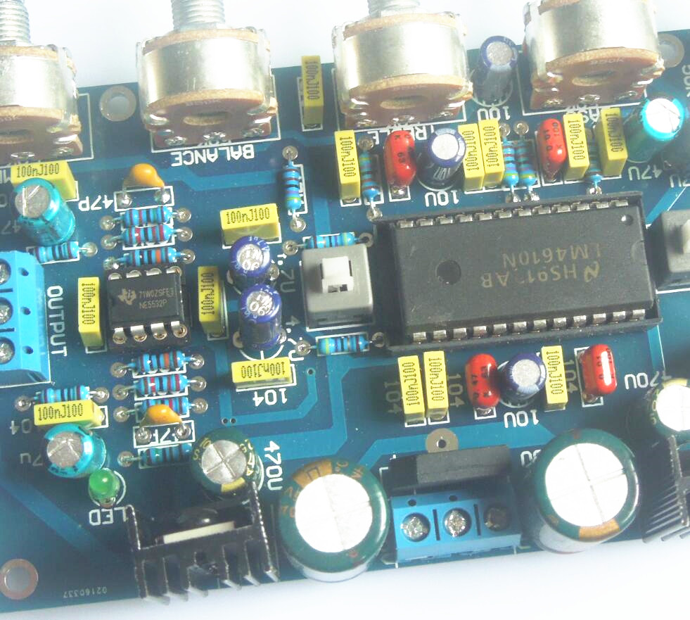 New Lm4610 Ne5532 Preamplifier Tone Amplifier Board For Hifi Diy Circuit Diagrams D3 006 In From Consumer Electronics On Alibaba Group