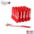DYNO New Product auto RYANSTAR wheel lug nuts High Quantity Length 92MM  12*1.5 aluminum 20pcs lug nuts