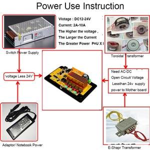 Image 5 - Loa siêu trầm Bluetooth Board Khuếch Đại 50 wát * 2 + 100 wát 4.3 Inch LCD Thanh Âm Thanh Bluetooth Receiver Giải Mã MP4/ MP5 Video Giải Mã DC12V
