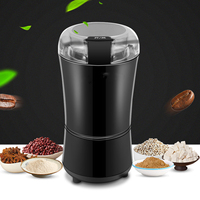 Mini Electric Coffee Bean Grinder Machine Household Salt Pepper Grinder Spices Nuts Seeds Grains Coffee Bean Grinding Appliances