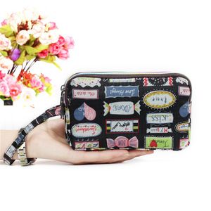 Женский водонепроницаемый кошелек на 3 молнии, сумочка-кошелек, сумочка-браслет, новая мода 2019, красота, сердце/звезды/сердца/сумки
