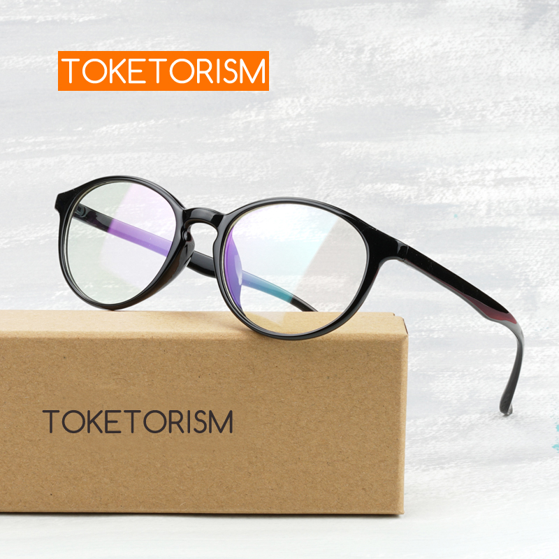Toketorism trend spectacle frames for women myopia glasses men vintage design 7032