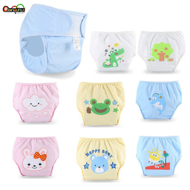 New Design Baby Cloth Diaper Cover Waterproof Cotton Diaper Washable Newborn Nappy Reusable Baby Diapers Pocket